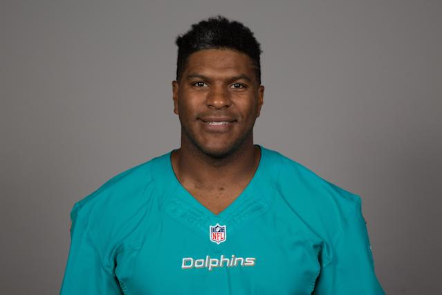 "Julius Thomas, who played for the <a class=""link rapid-noclick-resp"" href=""/nfl/teams/den"" data-ylk=""slk:Broncos"">Broncos</a>, Jaguars and Dolphins, is retiring to pursue a doctorate in psychology and study brain trauma. (AP)"
