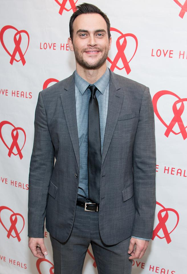 NEW YORK, NY - MARCH 07:  Actor Cheyenne Jackson attends the 2013 Gala By Love Heals at The Four Seasons Restaurant on March 7, 2013 in New York City.  (Photo by Michael Stewart/WireImage)