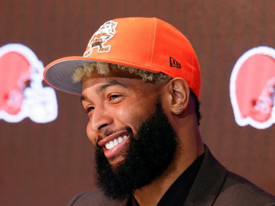 Odell Beckham Jr has brought glitz to the Browns (AP)