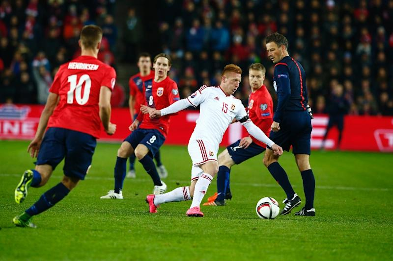 2ccfc2d130e Grief-stricken Hungary edge Norway in Euro play-off