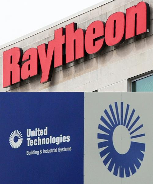"""Raytheon and United Technologies said last week they have agreed to merge, creating a giant underscoring an """"increasingly glaring imbalance"""" between the European aeronautic, space and defence industry and US and Chinese counterparts, analysts say (AFP Photo/Jim WATSON, Nova SAFO)"""