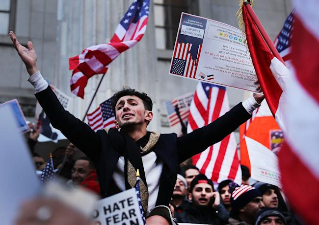 immigration ban protests