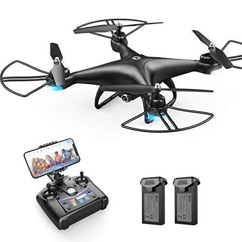 Holy Stone HS110D FPV RC Drone with 1080P HD Camera Live Video 120°Wide-Angle WiFi Quadcopter…