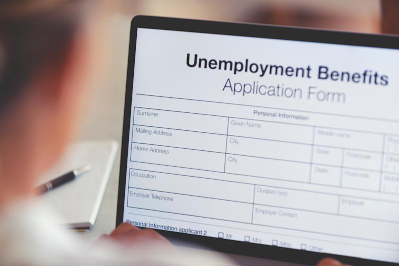 Applying for unemployment benefits? Don't give personal information to a scammer. (Photo: courtneyk via Getty Images)