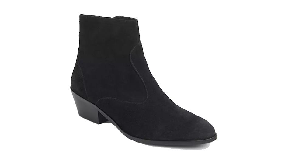 Perrie Suede Western Boots