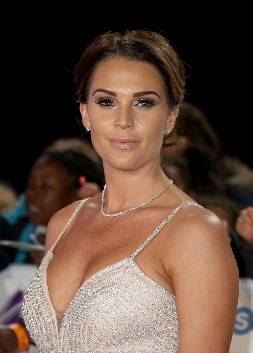 LONDON, ENGLAND - OCTOBER 29:  Danielle Lloyd attends the Pride of Britain Awards 2018 at The Grosvenor House Hotel on October 29, 2018 in London, England.  (Photo by Mike Marsland/Mike Marsland/WireImage)