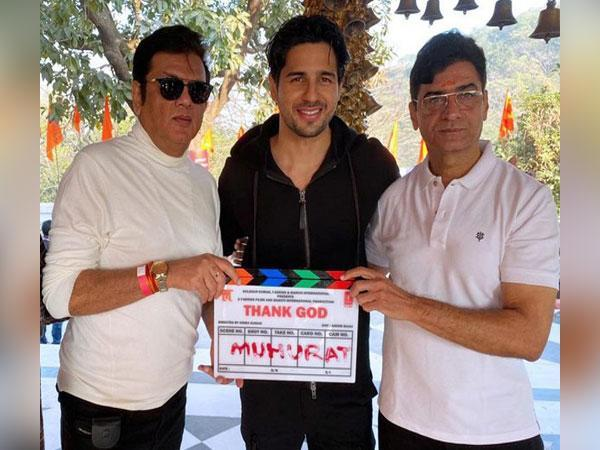 At Muhurat Ceremony of Film