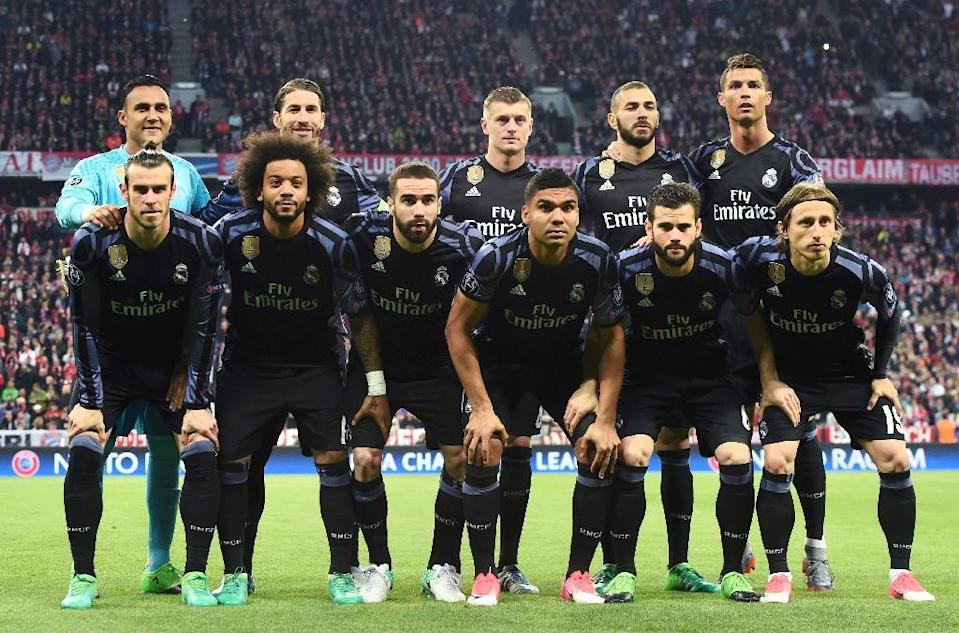 Real Madrid have been dethroned by Manchester United as the football club with the biggest revenue in the world (AFP Photo/Christof Stache)