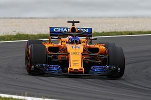 "McLaren's Fernando Alonso admits the top Formula 1 teams are still in ""another league"" from McLaren, despite producing his best qualifying of the 2018 season for the Spanish Grand Prix"