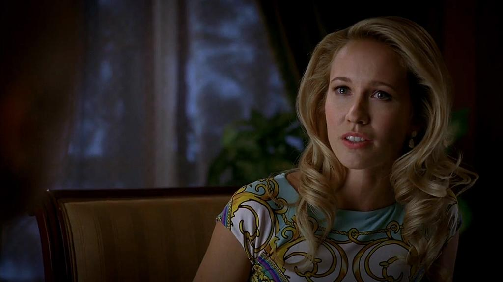 "Anna Camp in the ""True Blood"" Season 6 episode, ""In the Evening."""