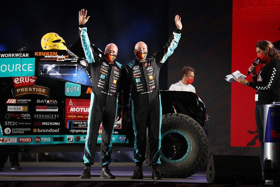 "#347 Maxxis Dakar Team Powered By Eurol Jefferies Dakar Rally: Tim Coronel, Tom Coronel<span class=""copyright"">A.S.O. </span>"