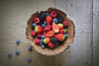 <strong>Berries:</strong> Berries are jam-packed with antioxidants like anthocyanins, which protect against the oxidative stress and inflammation. In addition, berries are also rich in heart-healthy phytonutrients and soluble fiber, making the life of our heart longer.