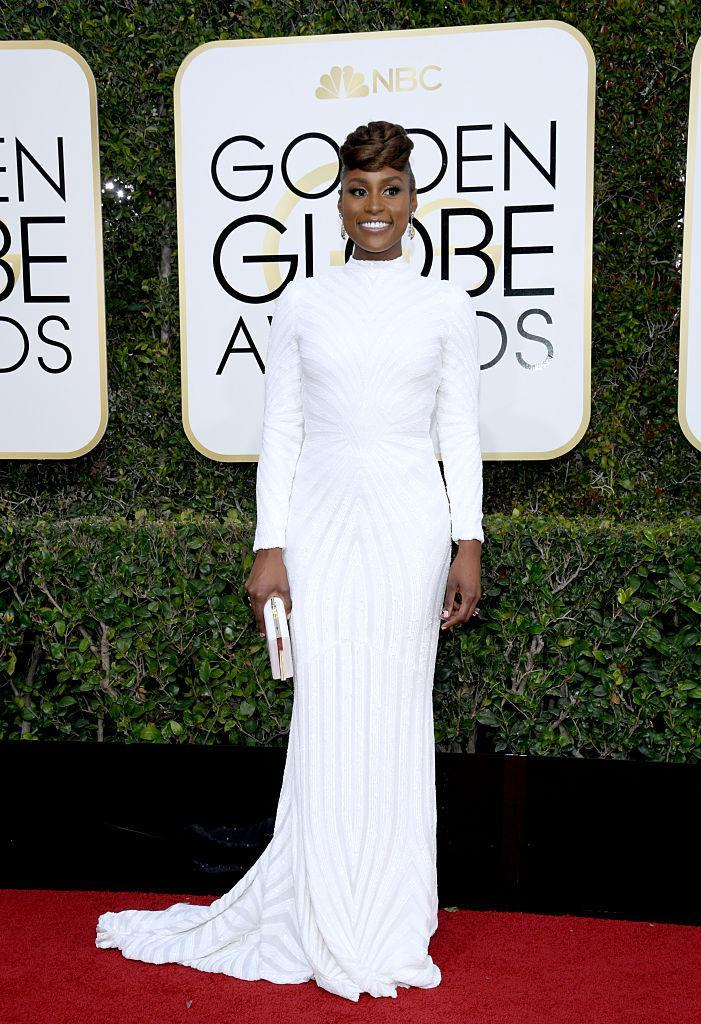 Issa Rae in Christian Siriano. (Photo: Getty Images)