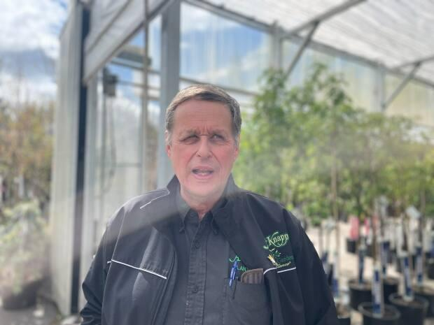 Jos Van Hage, owner of the Art Knapp garden centre in Prince George, emphasizes the importance of proper planning and cleanup when it comes to gardens.
