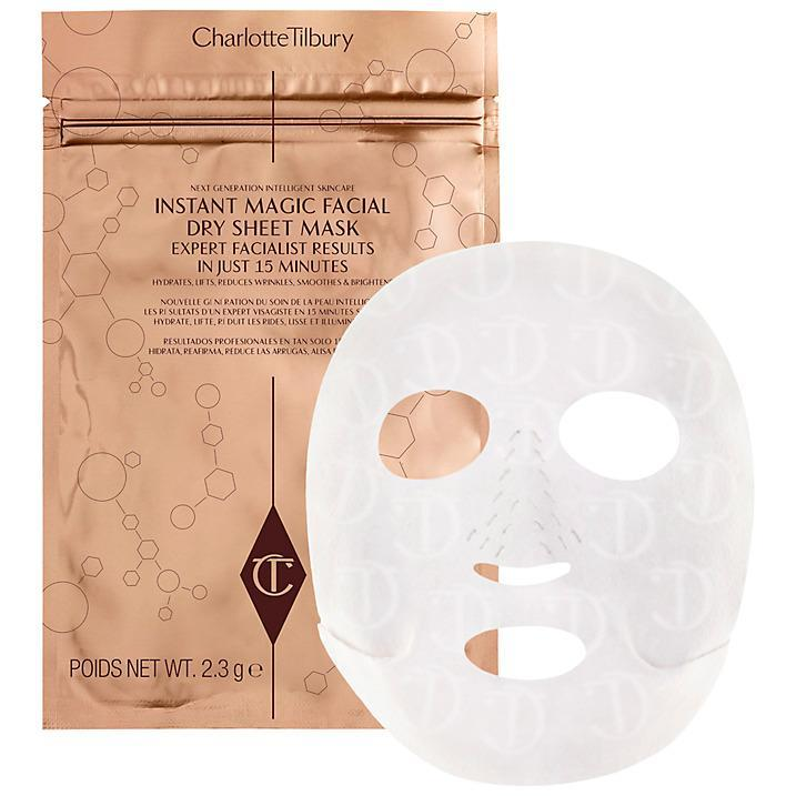"""<p>With an in-built Skin Solution IQ, this mask is actually a dry mask rather than soaked with water based ingredients. The textile mask is imprinted with active ingredients that have burst release effects on the skin for up to 8 hours. As it's not wet, this sheet mask has easy-fit ear loops to hold it against the face.<br><a href=""""http://tidd.ly/784f63b"""" rel=""""nofollow noopener"""" target=""""_blank"""" data-ylk=""""slk:Buy here"""" class=""""link rapid-noclick-resp"""">Buy here</a> </p>"""