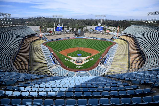 Dodger Stadium has had issues with security in recent seasons. (Getty Images)