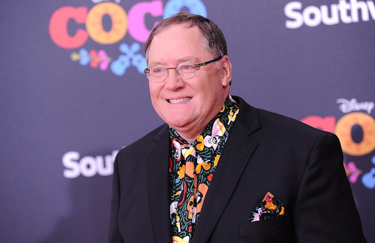 "John Lasseter, at the premiere of ""Coco"" in Los Angeles on Nov. 8, is head of animation for Disney and Pixar. (Photo: Jason LaVeris/FilmMagic via Getty Images)"