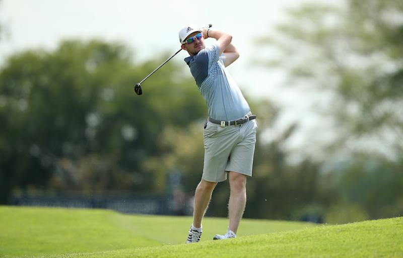 MALELANE, SOUTH AFRICA - NOVEMBER 27: Connor Syme of Scotland in action during a practice round ahead of the Alfred Dunhill Championship at Leopard Creek Country Golf Club on November 27, 2019 in Malelane, South Africa. (Photo by Jan Kruger/Getty Images)
