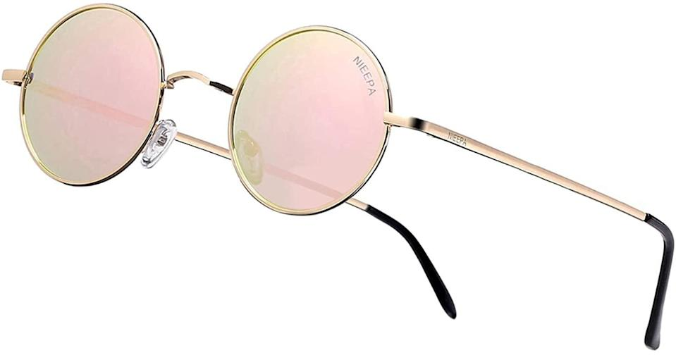 <p>These <span>Nieepa Vintage Round Polarized Sunglasses</span> ($13) are a vibe for the summer.</p>