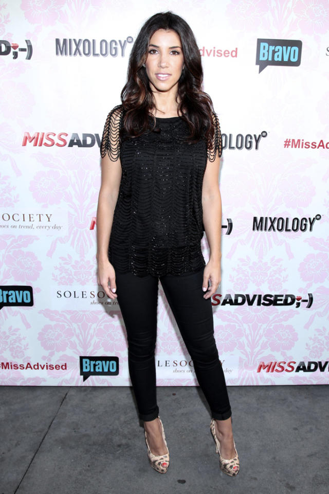 "Adrianna Costa attends the viewing party for Bravo's new series ""Miss Advised"" at the Planet Dailies & Mixology 101 on June 18, 2012 in Los Angeles, California."