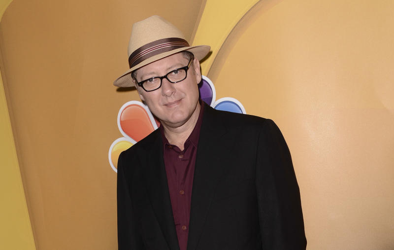 """FILE - In this July 27, 2013 file photo, actor James Spader arrives at the NBC 2013 summer press tour at the Beverly Hilton Hotel in Beverly Hills, Calif. Marvel announced Thursday, Aug. 29, 2013, that Spader will play Ulton in its """"Avengers: Age of Ultron."""" """"Age of Ultron"""" is the sequel to the 2012 box-office hit """"The Avengers."""" (Photo by Dan Steinberg/Invision/AP, File)"""