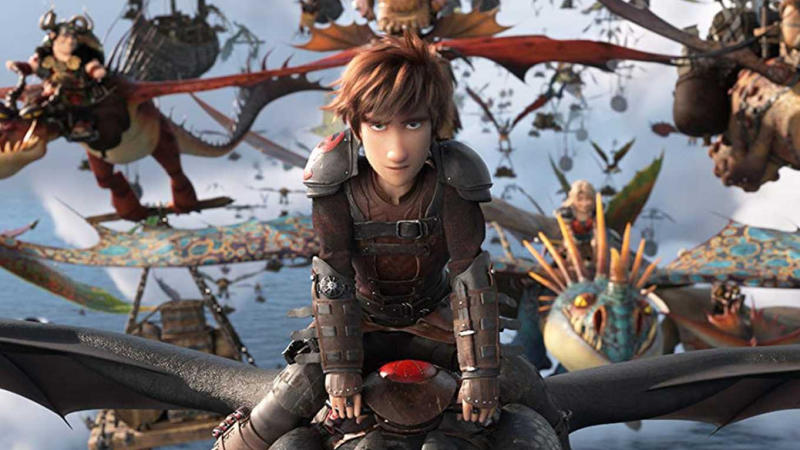 Jay Baruchel provided the voice for Hiccup in the 'How To Train Your Dragon' trilogy. (Credit: Paramount)