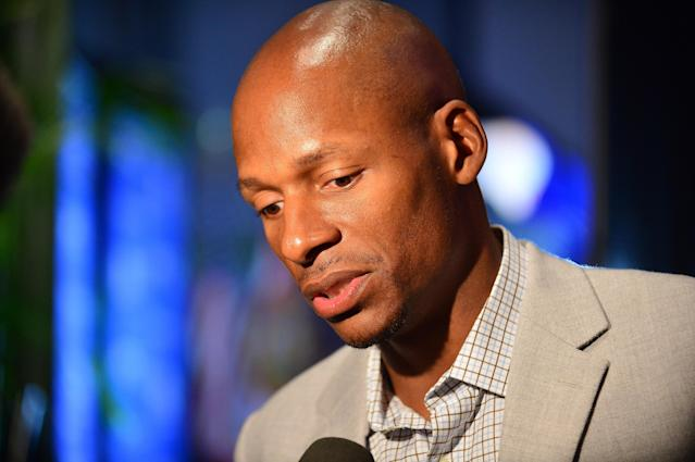 Ray Allen attends a book launch for 'Humble By The Journey' by Mike Fernandez at Miami Dade College on January 14, 2015 in Miami, Fla. (Getty)