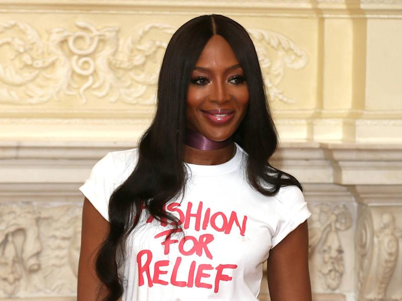 Naomi Campbell thrilled to bring Fashion for Relief back to London