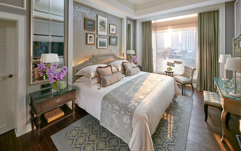 Built in 1876 and still the classiest hotel in Bangkok, the Mandarin Oriental, the preserve of wealthy travellers and cultural icons, is perfectly cosmopolitan while exuding traditional Thai charm - GEORGE APOSTOLIDIS