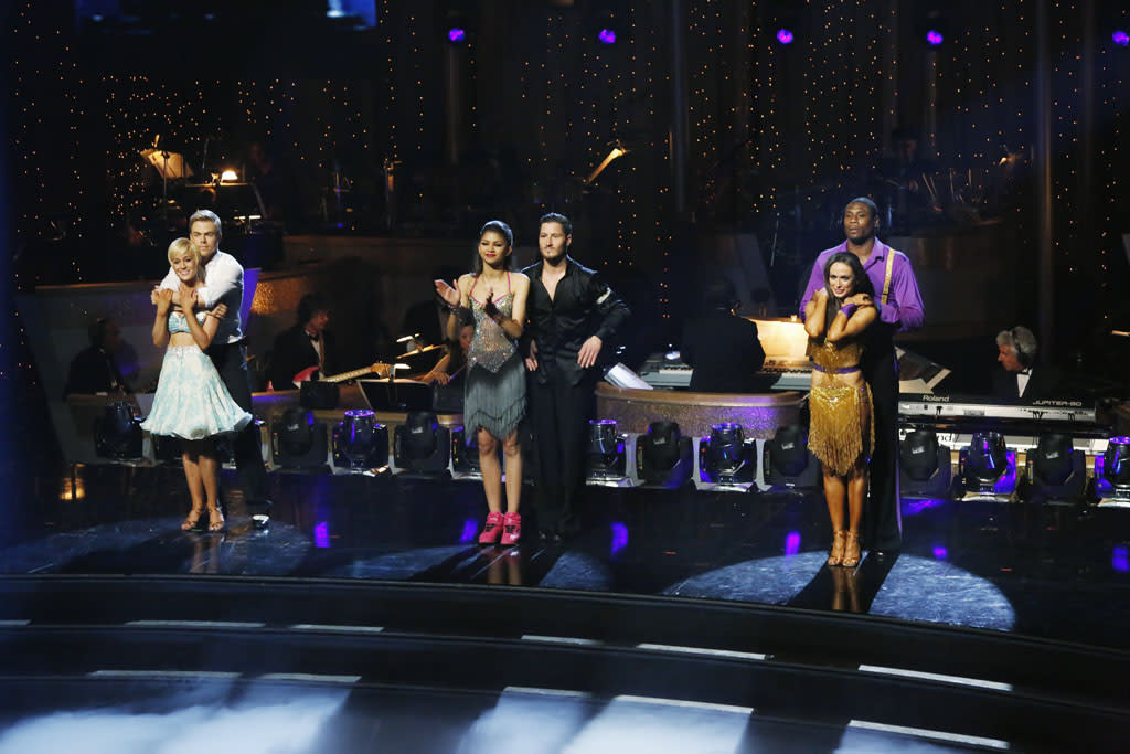 """""""Episode 1610A"""" - After 10 weeks of entertaining, stylized dancing, the remaining couples awaited the results of who would be crowned """"Dancing with the Stars"""" Champions. on the two-hour Season Finale of """"Dancing with the Stars the Results Show."""""""