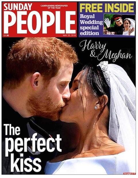 "Prince Harry married Meghan Markle in a ceremony that proved a fitting mix of the traditional and the unconventional, merging British tradition with American music and accents. The Prince and his beaming bride exchanged vows in front of 600 guests in St George's Chapel at Windsor Castle. But the BBC estimated the global audience would reach as many as 1.9 billion people. This is how the world's media reacted to the royal wedding. The Sunday Telegraph The Sunday Telegraph The Observer 'Two people fell in love and we all showed up' The Observer The Mail on Sunday Harry ever after! The Mail on Sunday The Sunday Times 'Two people fell in love and we all showed up' The Sunday Times The Sunday People The Perfect Kiss Sunday People The Sun on Sunday Kisstory - Harry and Meg's historic change for monarchy The Sun on Sunday The Sunday Mirror Harry and glorious Sunday Mirror The Sunday Express So in love Sunday Express The Daily Star Sunday Harry and Meghan make kisstory Daily Star Sunday The i The happy couple The i weekend The Independent Special relationship: An American feminist actor joins the Windsors The Independent The Sunday Mail Harry beams and Meghan sparkles Sunday Mail The Sunday Telegraph (Sydney) True love's kiss The Sunday Telegraph Credit: Getty Images The Sun-Herald (Sydney) Power of love The Sun-Herald Credit: Getty Images The Sunday Mail (Queensland) Modern love Sunday Mail The New York Daily News They do royal weddings. We do schoolkids' funerals New York Daily News New York Post Palace coo - American beauty storms UK, captures hearts New York Post Le Dauphiné libéré (Grenoble) Un ""oui"" princier - A princely yes Le Dauphiné libéré Der Tagesspiegel (Berlin) The power of love Der Tagesspiegel La Vanguardia (Barcelona) A real wedding to break moulds La Vanguardia The Herald on Sunday (Auckland) Jewel in the crown The Herald on Sunday Khaleej Times (Dubai) Dubai lives the royal wedding Khaleej Times How America watched the wedding Martin Luther King's daughter expressed her delight at the use of the civil rights activist's words in the royal wedding ceremony on Saturday. Bernice King tweeted: ""Your life, teachings and words still matter so much, Daddy. Congrats, Harry and Meghan"". Elsewhere across the US, royal fans gathered in the early hours to celebrate the historic occasion. More than 100 pupils turned out at Immaculate Heart High School in Los Angeles, Meghan Markle's former school, to watch her marriage to Prince Harry. There was a collective gasp in the auditorium at 4am local time, as they got their first glimpse of the bride. People in Los Angeles, Ms Markle's home town, cheer during a watching party at the Cat & Fiddle pub in Hollywood Credit: Reuters Many of the girls attended the watch party with their parents. Annemarie Sauer Hale, whose daughter Michaela attends the school, was a little surprised by the dress. ""It was a little more conservative than I expected but she looked radiant,"" she said. ""And then the tiara that the queen let her borrow and the veil that went on for days. It was lovely, it was beautiful."" Our picture editors' 20 favourite images of the Royal wedding Mother Carol Dance said the school fosters a strong sense of sisterhood and independence. ""They make empowered women here, it's really nice to see a woman of strength being able to use her position to further her own causes. And it's obvious that her husband is really charmed by that power too,"" she said. My very best wishes to Prince Harry and Meghan Markle on their wedding day. To all of those joining the national celebration with street parties and other events, have a wonderful day. #RoyalWedding— Theresa May (@theresa_may) May 19, 2018 ""I think it's a good step forward and globalisation of the world and this kind of 'one love' feeling which they talked about in the sermon,"" Mother Stacey Johnson said. The young girls are excited to watch Meghan, as she takes on her new role in Kensington Palace. ""She's the only person of colour that's in the entire royal family,"" said Marigrace Carrasco, a 15-year-old student. ""It's crazy to think that you don't have to fit in a certain box to make change in the world. She has all this global influence. I believe her a lot, I put my trust in her."" Guests toast at a Viewing Party at New York's Plaza Hotel Credit: Getty Scores of well-wishers descended on the British-themed The Cat And Fiddle pub in Hollywood, celebrating Ms Markle's local connection. Immaculate Heart students praise non-traditional royal wedding of alum Meghan Markle https://t.co/MMJlyVV49Wpic.twitter.com/AhZyuBi00P— Los Angeles Times (@latimes) May 19, 2018 The Chicago Tribune also found a local angle to the nuptials. It headlined its coverage: ""Northwestern grad Meghan Markle marries Prince Harry in historic, star-studded ceremony at Windsor Castle."" Royalists watch on at Kanata Sports Club in Ottawa, Canada Credit: Bloomberg Harvey Young, Ms Markle's Drama professor at Chicago's Northwestern University, praised her choice of service. ""Meghan has written about her mother being misrepresented as a nanny. When Meghan talks about celebrating who she is as a woman it's to celebrate her blackness as well as her whiteness,"" he said And speaking of diplomacy,Harry's amazing bride Megan did an internship at @USEmbArgentina.You can apply for a @StateDept internship at https://t.co/15LFveTgcJ - sorry, internship doesn't come with a #RoyalWedding! 2/2— Laura Kennedy (@AmbKennedy_ret) May 19, 2018 ""That service is one that brings together everyone. I think you saw Black virtuosity on display, it's wonderful, extraordinary. Meghan should be proud of the ceremony."" Deborah Cohen, a history professor, added somewhat caustically: ""It's the longest-running reality show with an endless replenishing set of characters. Meghan represents another stage of it."" Bill de Blasio, the New York Mayor tweeted his support for the young couple, alongside his wife: Congrats, Meghan and Harry! Keep doing things your way. Britain will never be the same – and that's a good thing. https://t.co/4UYiOCaarN— Bill de Blasio (@NYCMayor) May 19, 2018 The Los Angeles Times was taken with the ""pomp and pageantry"" of the occasion and the personal aside from Prince Harry when he told his bride. ""You look amazing."" It was, the paper continued: ""a tradition imbued ceremony"" seen by millions worldwide. Prince Harry and Meghan Markle during their wedding at St George's Chapel Credit: Dominic Lipinski/PA ""In an eclectic and evocative wedding service that blended the stylings of a gospel choir with a soprano's classical rendition of Handel, the two — gazing into one another's eyes and smiling — were pronounced man and wife in the gothic St. George's Chapel within the walls of Windsor Castle, a millennium-old seat of British royalty."" The New York Post, one of the city's tabloids, joyfully announced ""Meghan Markle is now a royal"". It continued: ""The American 'Suits' actress, 36, tied the knot with Prince Harry in a wedding ceremony at London's St. George's chapel at Windsor Castle on Saturday attended by the royal family as well as celebrity pals including Oprah Winfrey, George and Amal Clooney, Serena Williams, James Corden and Priyanka Chopra."" The New York Times said that Meghan Markle was in the span of an hour ""transformed from a Ms. to Duchess."" For the New York Daily News, the ceremony was ""emotional."" It added : ""Prince Harry has officially settled down with American actress Meghan Markle after a touching ceremony held at St. George's Chapel on the Windsor Castle grounds. Canada Justin Trudeau, the Prime Minister of Canada, where Ms Markle lived for the past seven years while filming for the legal drama Suits, sent his congratulations to the royals. He announced that the country would donate $50,000 to a children's charity to mark the occasion. ""To celebrate their union, Canada will donate 50,000 dollars to Jumpstart, a Canadian charity dedicated to making play and sports more accessible to children from disadvantaged backgrounds. Since 2005, Jumpstart has helped more than 1.6 million children of all abilities get out on the field and be part of a team. ""Sophie and I congratulate the newlyweds on behalf of the Government of Canada. We wish Their Royal Highnesses the Duke and Duchess of Sussex a lifetime of happiness, and all the best as they start this new chapter together. We look forward to welcoming them on a future visit to Canada,"" he said. Britain's Prince Harryspeaks with Canadian Prime Minister Justin Trudeau during a reception in April 2018 Credit: Matt Dunham/AP South Africa Nearly 5,600 miles away from Windsor, in South Africa, organisers of a party for up to 5,000 people arranged champagne, Union flag cupcakes and even bagpipe players. Lize Millward, manager at 1Fox in Johannesburg, said: ""People seem to like them because Harry is a really down-to-earth person, no chip on his shoulder, and Meghan, being an actress, people have seen her on TV and are interested in her."" A couple dressed as Britain's Prince Harry and Meghan Markle kiss during a group photograph at a party in Durban, South Africa Credit: ROGAN WARD/Reuters Russia In the Russian capital there was applause at St Andrew's Anglican Church as the Duke and Duchess of Sussex were declared husband and wife by the Archbishop of Canterbury, Justin Welby. Rev Canon Malcolm Rogers, St Andrew's Chaplain, said around 200 people of different nationalities, roughly two thirds of them Russian, were at the church less than a mile from the Kremlin. ""The talk (by Rev Michael Curry) received applause - and people were a bit amused by how the congregation looked during the address,"" he said. ""In the current tensions, especially here in Moscow, it is a great thing to bring us together - perhaps an example of the power of love spoken about by the preacher."" Royal wedding 