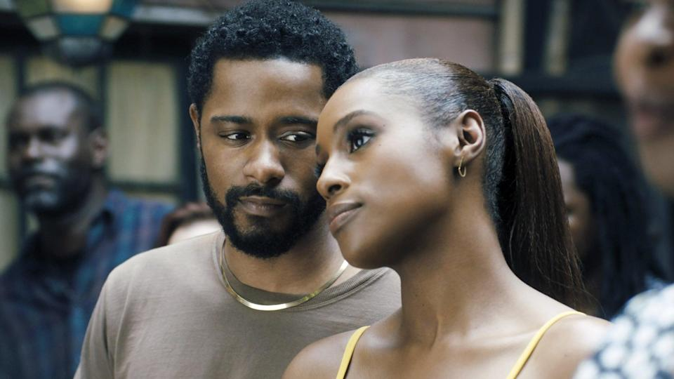 "<p>Starring Issa Rae as Mae Morton and LaKeith Stanfield as Michael Block, <strong>The Photograph</strong> is a romantic drama detailing the budding romance between the two. Mae, coping with the loss of her estranged mother, sets out to investigate a photo she found while cleaning out her things, leading her to Michael, a rising journalist. Intertwining love stories both past and present, <strong>The Photograph</strong> is the perfect film to watch this Valentine's Day.</p> <p><a href=""https://www.hbomax.com/feature/urn:hbo:feature:GX4cqxwHQscPCwwEAAAFW"" class=""link rapid-noclick-resp"" rel=""nofollow noopener"" target=""_blank"" data-ylk=""slk:Watch The Photograph on HBO Max"">Watch <strong>The Photograph</strong> on HBO Max</a>.</p>"