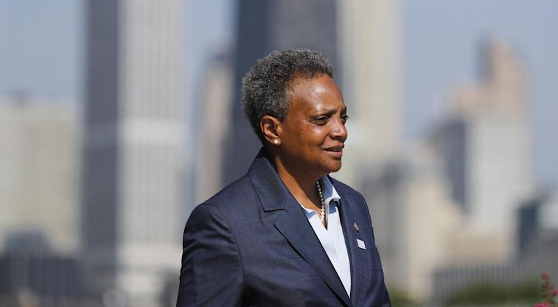 Mayor Lori Lightfoot has been criticized over the zoning regulations connected to new recreational marijuana law.<br />s (Photo: Jose M. Osorio/Chicago Tribune via Getty Images)