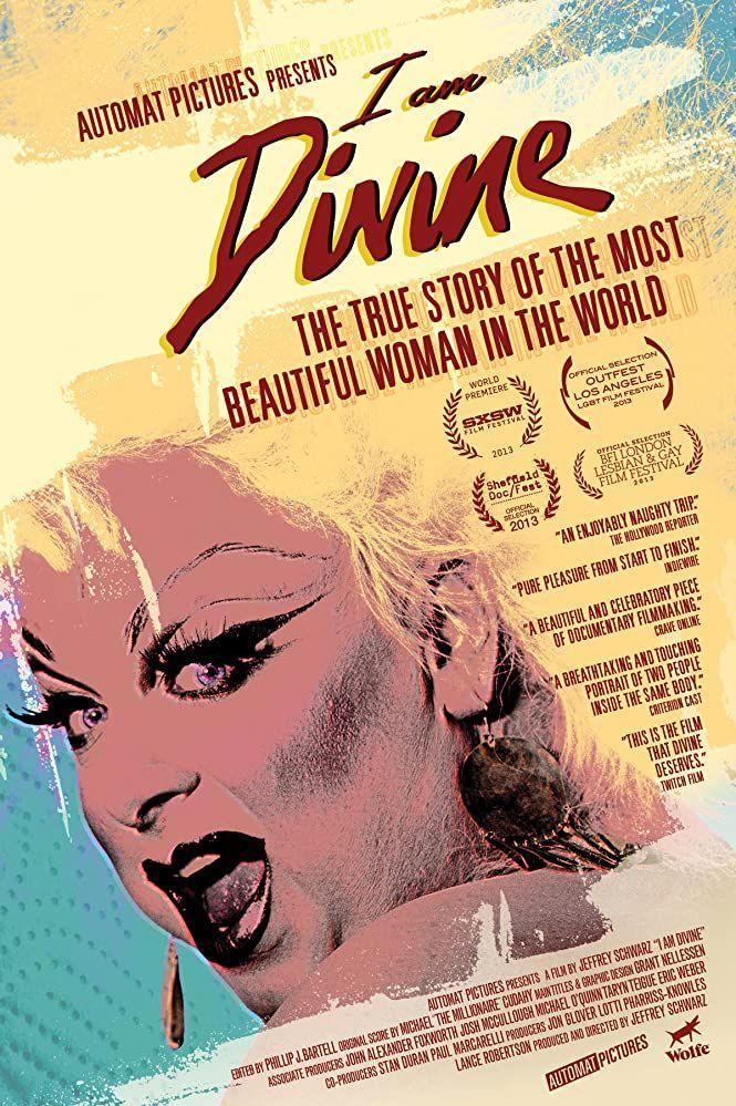 """<p>This upbeat documentary details the life of drag queen superstar Divine and how Divine impacted the drag and entertainment landscape forever. Ursula from <em>The Little Mermaid </em>was even <a href=""""https://ew.com/article/2012/07/31/little-mermaid-3/"""" rel=""""nofollow noopener"""" target=""""_blank"""" data-ylk=""""slk:based on Divine's drag persona"""" class=""""link rapid-noclick-resp"""">based on Divine's drag persona</a>.</p>"""