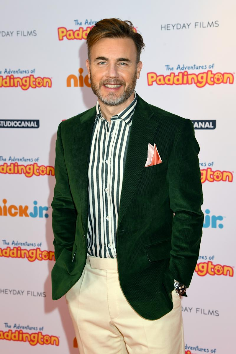 """Gary Barlow attends """"The Adventures Of Paddington"""" UK Premiere at Ham Yard Hotel on February 09, 2020 in London, England. (Photo by Dave J Hogan/Getty Images)"""