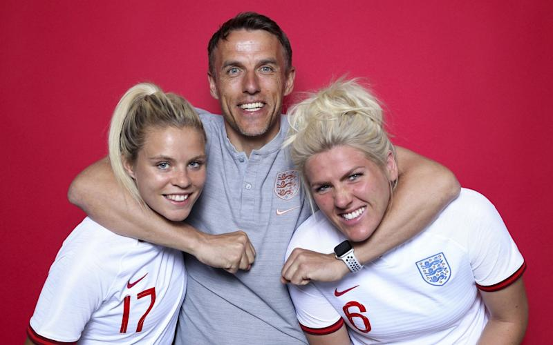 Phil Neville wants his side to show that they are ranked No 3 in the world - FIFA