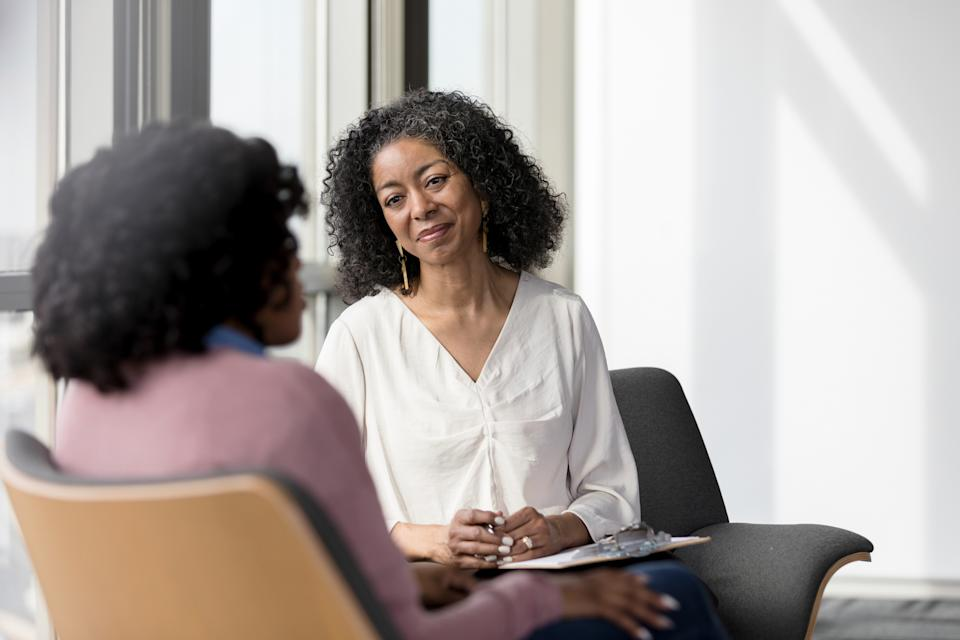 A physician who specializes in mental health can help you weigh the benefits and risks of going off of medication (Getty Images)