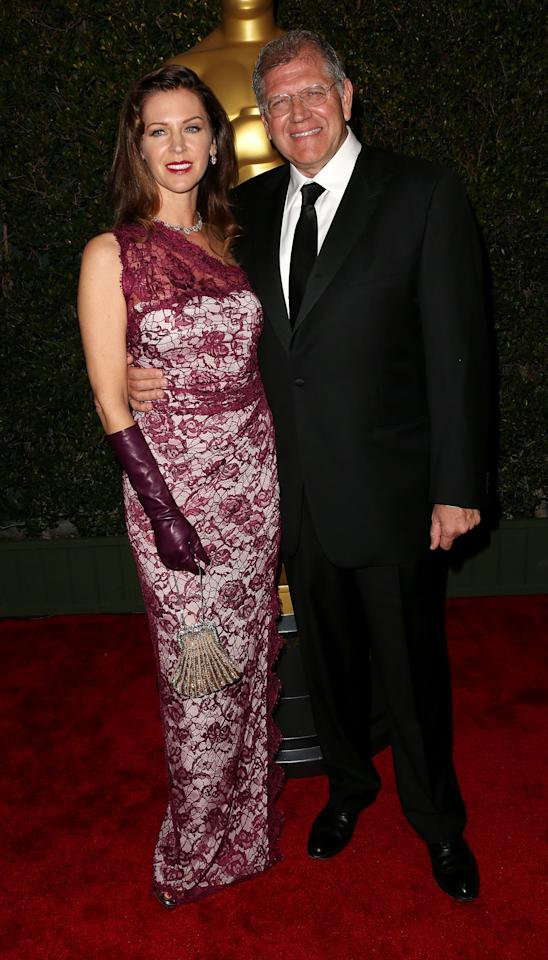 HOLLYWOOD, CA - DECEMBER 01:  Writer/director/producer Robert Zemeckis (R) and his wife attend the Academy Of Motion Picture Arts And Sciences' 4th Annual Governors Awards at Hollywood and Highland on December 1, 2012 in Hollywood, California.  (Photo by Frederick M. Brown/Getty Images)