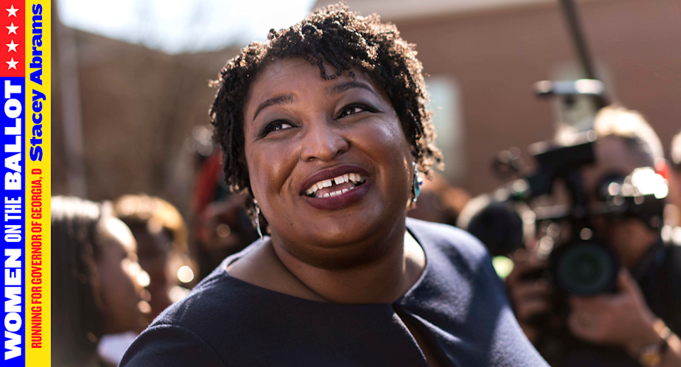 Stacey Abrams is running for governor of Georgia. (Photo: Getty Images)