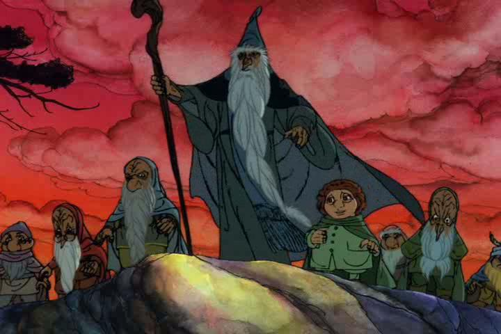 "This isn't the first ""Hobbit"" movie Think Peter Jackson is the first filmmaker to ever take a crack at J.R.R. Tolkien's timeless fantasy classic? Think again. He wasn't even the first director to try to adapt ""The Lord of the Rings""! In 1977, animation house Rankin/Bass (creators of animated holiday TV specials like ""Rudolph the Red Nosed Reindeer"" and ""Frosty the Snowman"") created a hand-animated TV movie based on Tolkien's ""The Hobbit"" for NBC.  While the modest 77-minute cartoon was hardly big budget, it did spawn an animated sequel based on ""The Lord of the Rings"" a few years later. Production of the ""Hobbit"" animated movie was outsourced to Japan's Topcraft, an animation house that would later become the legendary Studio Ghibli (""My Neighbor Totoro,"" ""Spirited Away"")."