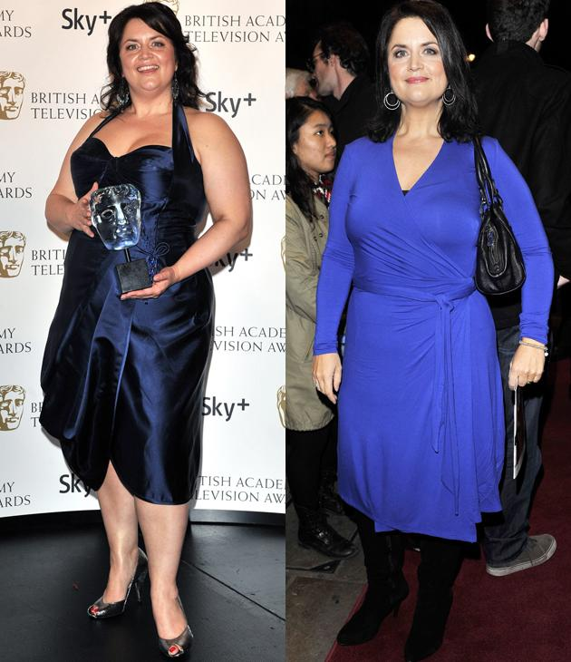 Ruth Jones weight loss: After years of failing at faddy diets the Gavin & Stacey star went on to lose four and a half stone by counting the calories. It's taken her nearly two years to slim but it's certainly paid off.