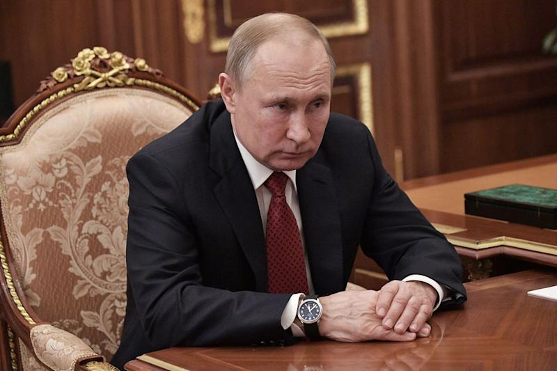 Putin has been president of Russia since 2012