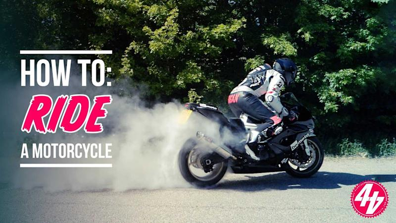How To Ride A Motorcycle Educational Video