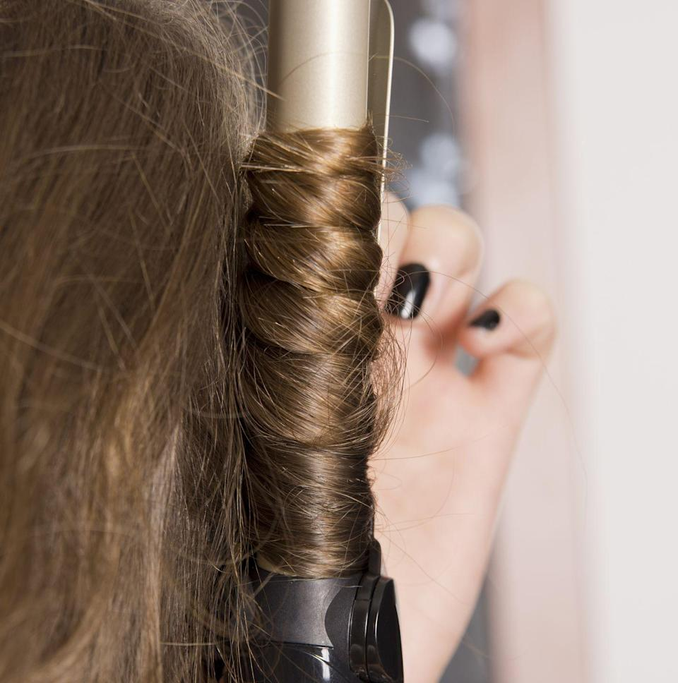 """<p><a href=""""https://www.oprahmag.com/beauty/hair/a31116506/how-to-get-beach-waves/"""" rel=""""nofollow noopener"""" target=""""_blank"""" data-ylk=""""slk:Beach waves"""" class=""""link rapid-noclick-resp"""">Beach waves</a>, for example, suit just about every cut—from bobs to long tresses—but it's definitely a skill that takes awhile to master. Why not use the spare time to perfect the technique?</p><p><a class=""""link rapid-noclick-resp"""" href=""""https://www.amazon.com/dp/B00TK13IWW?linkCode=xm2&tag=syn-yahoo-20&ascsubtag=%5Bartid%7C10072.g.31703166%5Bsrc%7Cyahoo-us"""" rel=""""nofollow noopener"""" target=""""_blank"""" data-ylk=""""slk:SHOP CURLING IRON"""">SHOP CURLING IRON</a></p>"""