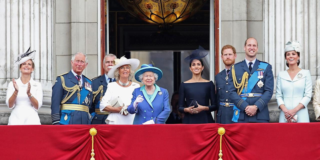 <p>Just like any ordinary family, the British Royals like to give one another endearing nicknames. But because they don't make a habit out of using them in public, we've done some digging to find out all the pet names you'd hear flying around the dinner table at Buckingham Palace...</p>