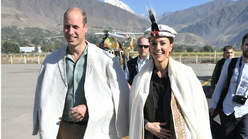 Royal couple returns to Lahore owing to bad weather