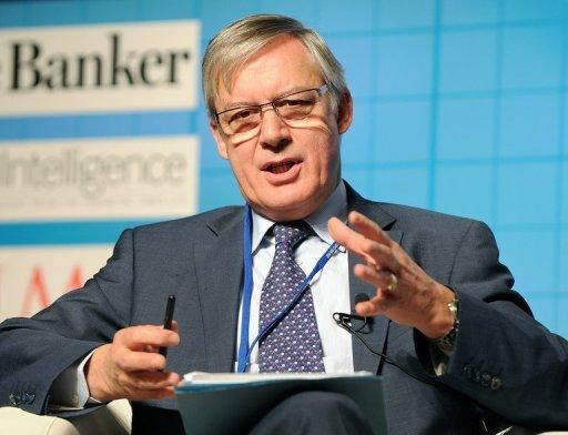 French bank chief targets London's euro status: FT