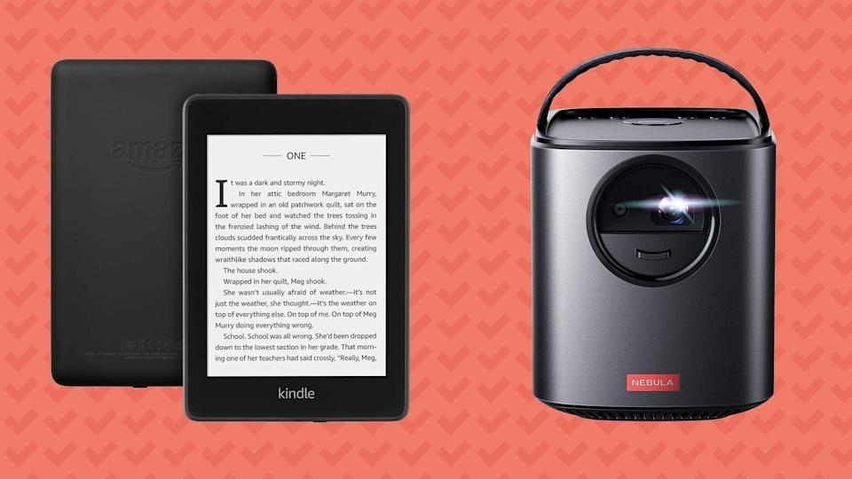 Save on Kindles, portable projectors, and more this Friday on Amazon.