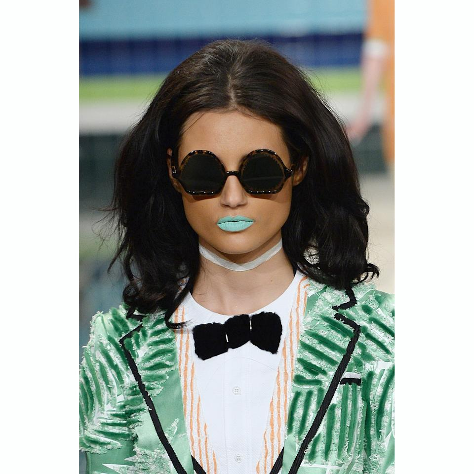 <p>Speaking of the '60s, the Thom Browne show inspired serious nostalgia for that swinging decade. Once the models let their hair down (literally, they came out earlier in the show wearing bathing caps), their teased-out, bombshell coifs brought about some major retro vibes.</p>