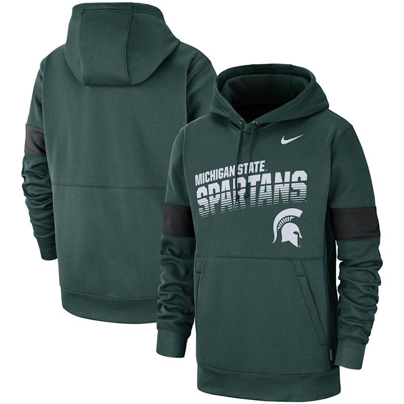 Michigan State Spartans Nike 2019 Sideline Therma-FIT Perfromance Hoodie